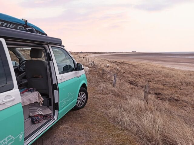 Take me where nature paints in the most beautiful colors. 🎨 ▪️▪️▪️ Nimm mich dahin mit, wo die Natur in den schönsten Farben malt. 🎨  📸: @carochani  #träumenerlaubt #vanlife #roadsurfer #reiselust #bulli #freunde #fernweh #travel #traveltheworld #camping #campervan #campervanlife #vwcalifornia #beachhostel #sufersuite #campermieten #roadsurfer #roadsurferfamily #roadsurfer_camper #vanlifegermany #roadsurfing