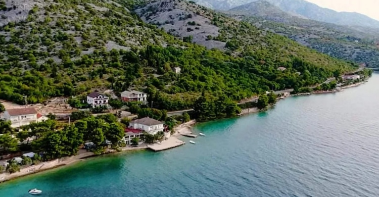 Stellplatz am Meer Kroatien