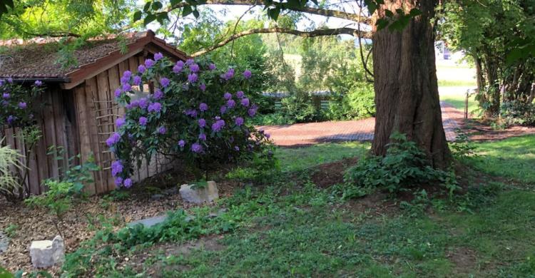 Stellplatz im Märchen-Garten