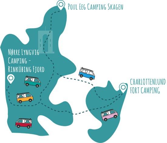 top 55 camping site Denmark