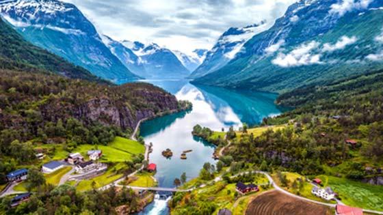 Visiter la Norvège et ses Fjords