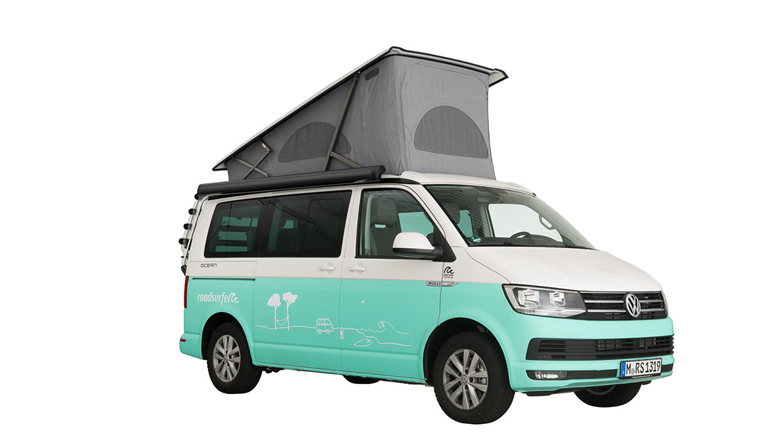 VW T6 California Ocean hire
