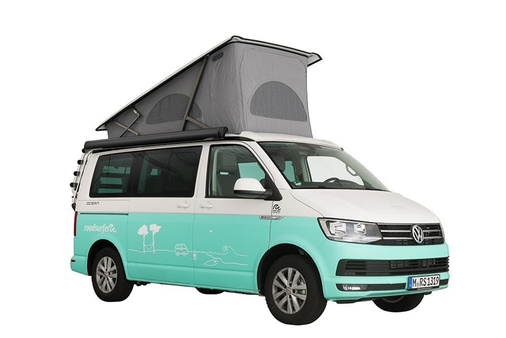 VW T6 California Ocean hire