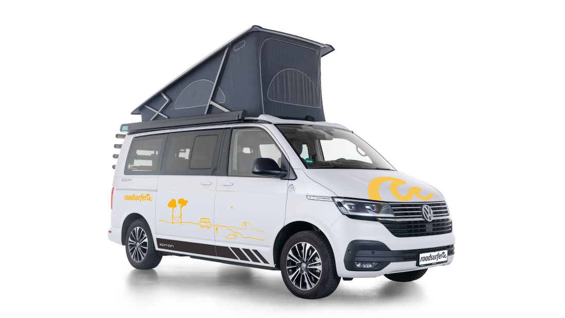 Vw T6.1 California Ocean Edition Side View