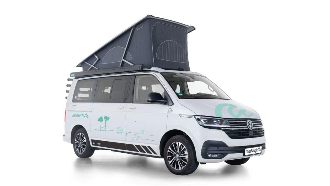 Vw T6.1 California Ocean Edition 4 Motion Side View