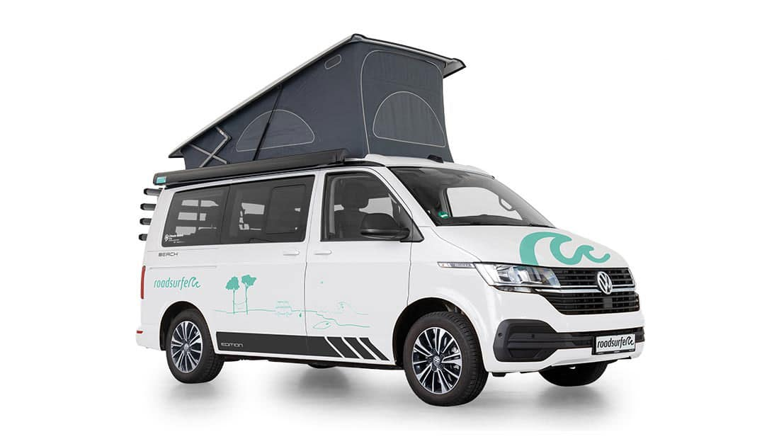 VW T6.1 California Beach Edition 4 Motion Side View