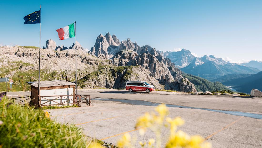 Wildcampen Italien